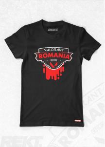 Tricou Valorant Romania Official