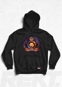 Hanorac cu glugă Danyyy23 Fire